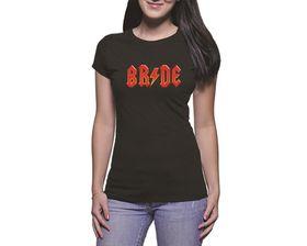 OTC Shop Bride Ladies T-Shirt - Black