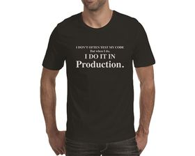 OTC Shop Coder Men's T-Shirt - Black