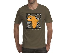 OTC Shop COZA Men's T-Shirt - Khaki