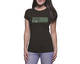 OTC Shop Creativity Ladies T-Shirt - Black