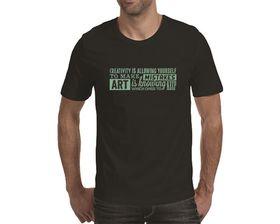OTC Shop Creativity Men's T-Shirt - Black