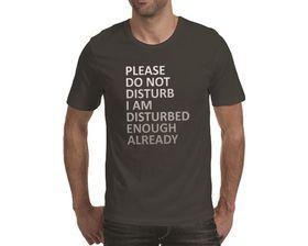 OTC Shop Disturbed Men's T-Shirt - Charcoal