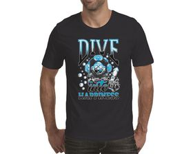 OTC Shop Dive Into Happiness Men's T-Shirt - Navy