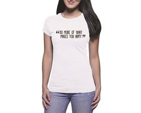 OTC Shop Do More Ladies T-Shirt - White
