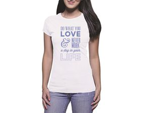 OTC Shop Do What You Love Ladies T-Shirt - White