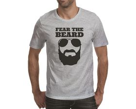 OTC Shop Fear the Beard Men's T-Shirt - Grey Heather