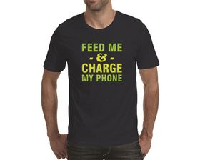OTC Shop Feed Me Men's T-Shirt - Navy