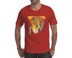 OTC Shop Ferociously Forty Men's T-Shirt - Red
