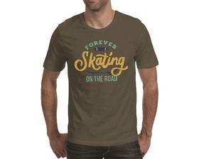 OTC Shop Forever Skating Men's T-Shirt - Khaki