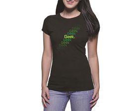 OTC Shop Geek Escalator Ladies T-Shirt - Black