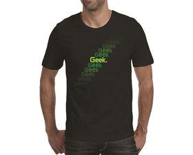 OTC Shop Geek Escalator Men's T-Shirt - Black