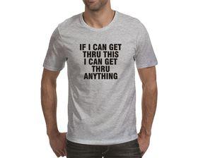 OTC Shop Get Thru This Men's T-Shirt - Grey Heather