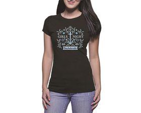 OTC Shop Girls Night Out Ladies T-Shirt - Black