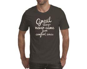 OTC Shop Great Things Men's T-Shirt - Charcoal