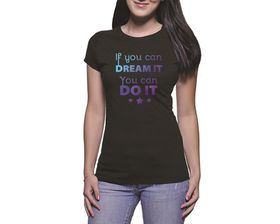 OTC Shop If You Can Dream It Ladies T-Shirt - Black