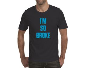 OTC Shop I'm So Broke Men's T-Shirt - Navy