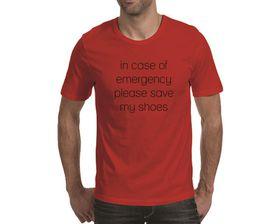 OTC Shop In Case of Emergency Men's T-Shirt - Red