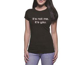 OTC Shop It's Not Me Ladies T-Shirt - Black