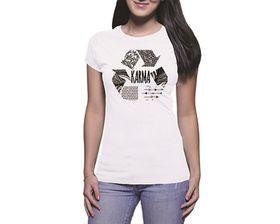 OTC Shop Karma Ladies T-Shirt - White