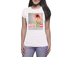 OTC Shop Karoo Liefde Ladies T-Shirt - White