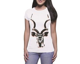 OTC Shop Kudu Ladies T-Shirt - White
