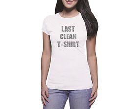 OTC Shop Last Clean Ladies T-Shirt - White