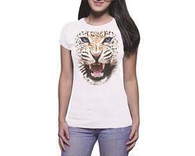 OTC Shop Leopard Ladies T-Shirt - White