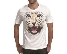OTC Shop Leopard Men's T-Shirt - White
