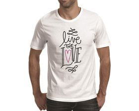 OTC Shop Live The Love Men's T-Shirt - White