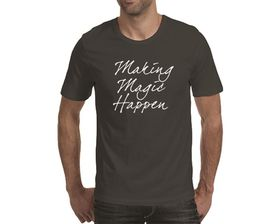 OTC Shop Make Magic Happen Men's T-Shirt - Charcoal