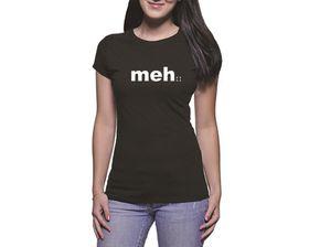 OTC Shop Meh Ladies T-Shirt - Black