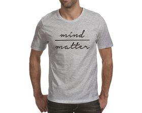 OTC Shop Mind Over Matter Men's T-Shirt - Grey Heather