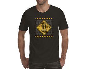 OTC Shop Monitored Men's T-Shirt - Black
