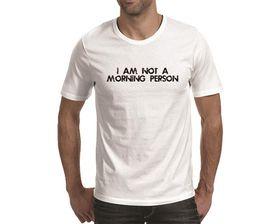 OTC Shop Morning Person Men's T-Shirt - White