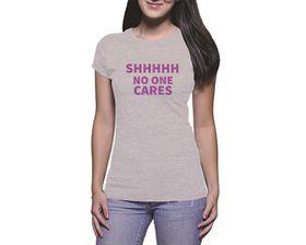 OTC Shop No Idea Ladies T-Shirt - Grey Heather
