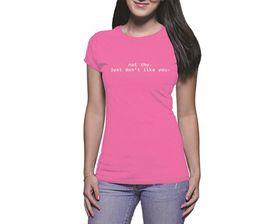 OTC Shop Not Shy Ladies T-Shirt - Fuchsia