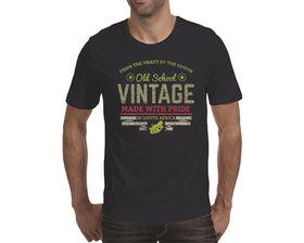 OTC Shop Old School Vintage Men's T-Shirt - Navy