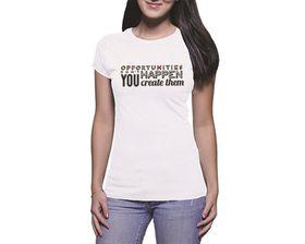 OTC Shop Opportunites Ladies T-Shirt - White