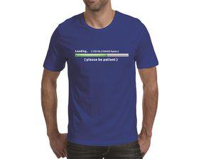 OTC Shop Patient Men's T-Shirt - Royal Blue