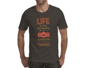 OTC Shop Photography Men's T-Shirt - Charcoal