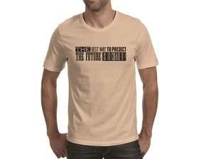 OTC Shop Predict the Future Men's T-Shirt - Beige