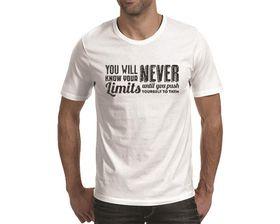 OTC Shop Push Yourself Men's T-Shirt - White