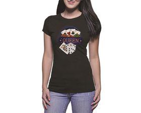 OTC Shop Queen Ladies T-Shirt - Black