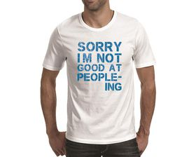 OTC Shop Sorry Men's T-Shirt - White