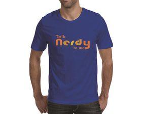 OTC Shop Talk Nerdy Men's T-Shirt - Royal Blue