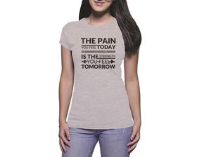 OTC Shop The Pain You Feel Ladies T-Shirt - Grey Heather