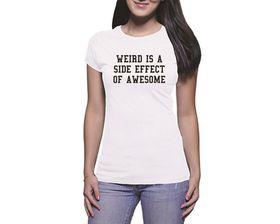 OTC Shop Weird Ladies T-Shirt - White