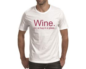 OTC Shop Wine Men's T-Shirt - White