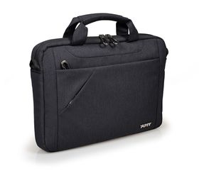 Port Sydney Top loading Laptop Bag - 10-12 Inch- Black