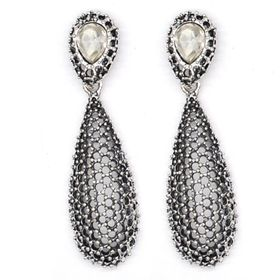 Bella Bella Silver Plated Fashion Earrings  (TBE047)